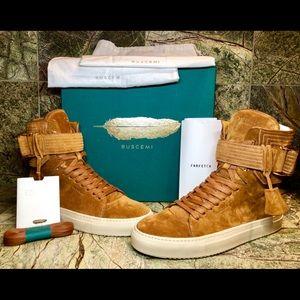 "067b05c8a0b1 Buscemi Shoes - Buscemi Men s ""170mm"" in Cognac Size 12 US 45 EU"